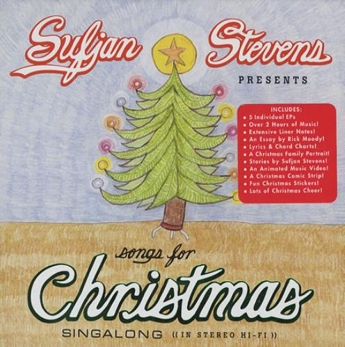 Sufjan Stevens Songs For Christmas US 5-CD album set (383531)