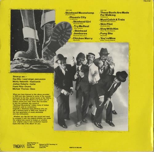 Symarip Skinhead Moonstomp The Album Uk Vinyl Lp Album