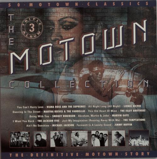 Tamla Motown The Motown Classics Uk 3 Lp Vinyl Record Set