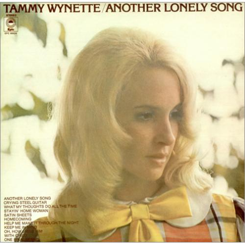 Tammy Wynette Another Lonely Song Uk Vinyl Lp Album Lp