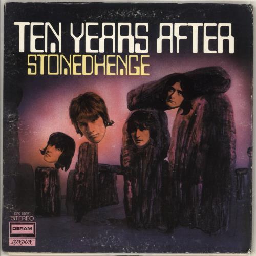 Ten Years After Stonedhenge Us Vinyl Lp Album Lp Record