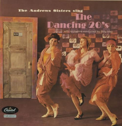 The Andrews Sisters Sing The Dancing 20s Uk Vinyl Lp Album