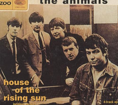 The Animals House Of The Rising Sun Ep Greek Promo Cd