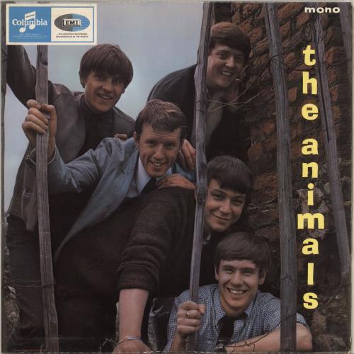 The Animals The Animals Ex Uk Vinyl Lp Album Lp Record