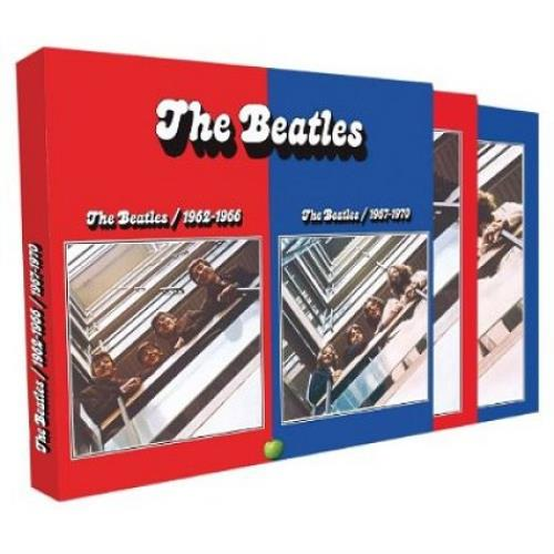 The Beatles 1962 1970 The Red And Blue Albums Uk 4 Cd