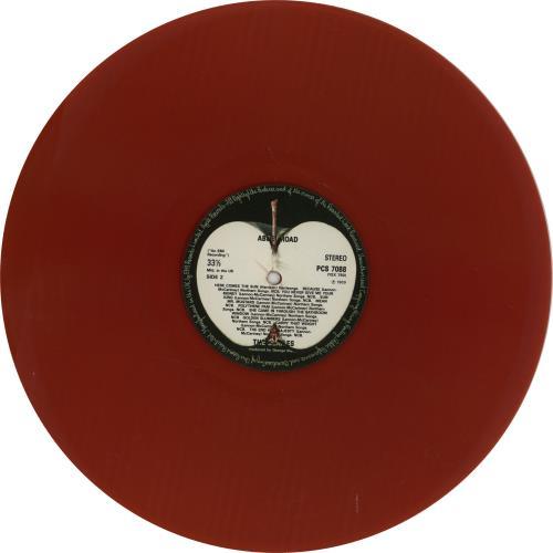 The Beatles Abbey Road Red Vinyl Uk Vinyl Lp Album Lp