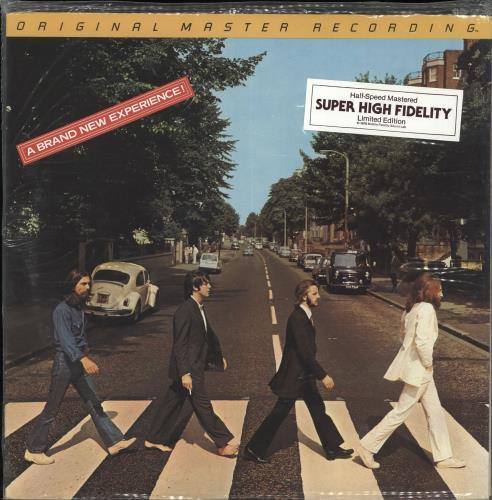 The Beatles Abbey Road Sealed Stickered Us Vinyl Lp