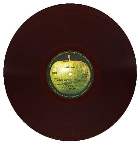 The Beatles Abbey Road 1st Red Vinyl Obi Mint