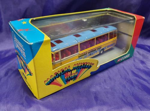 The Beatles Bedford Val Panorama Magical Mystery Tour Bus