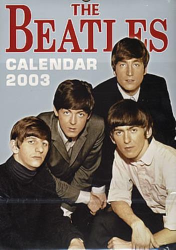 The Beatles Calendar 2003 UK calendar (292643) 5060046561069