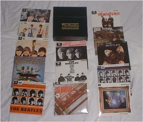 The Beatles Compact Disc Ep Collection Us Cd Single Box