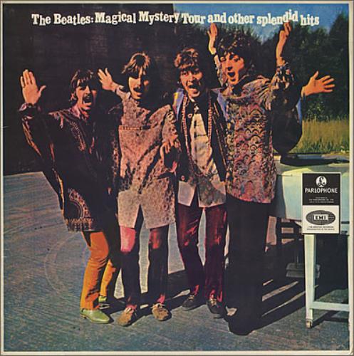 The Beatles Magical Mystery Tour New Zealand Vinyl Lp