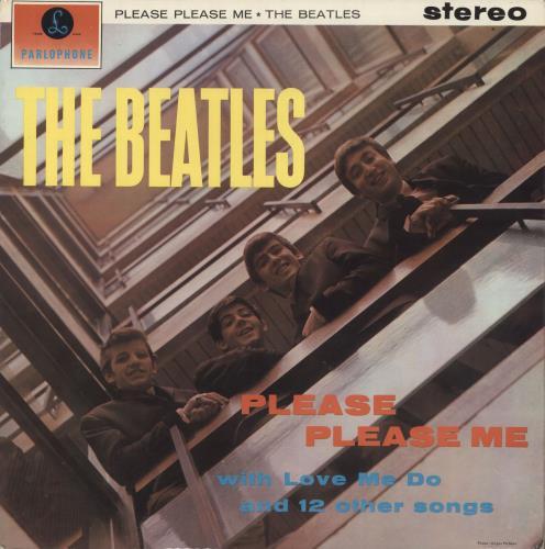 The Beatles Please Please Me 3rd Ex Uk Vinyl Lp Album