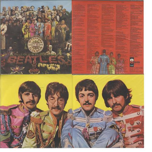 The Beatles Sgt Pepper S Lonely Hearts Club Band