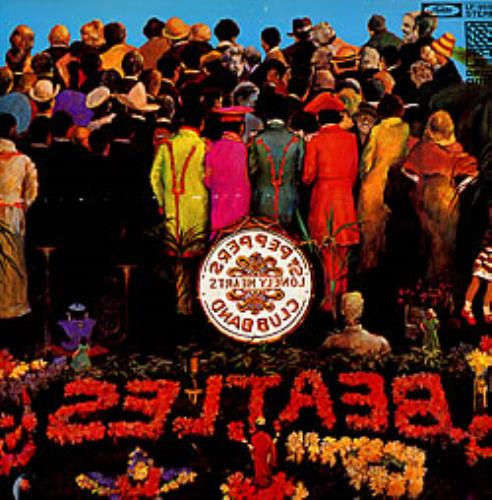 The Beatles Sgt Pepper S Lonely Hearts Club Band Japanese