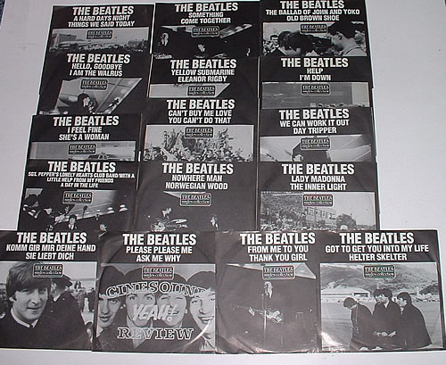 The Beatles Singles Collection Collection Of 7