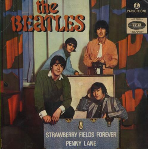 The Beatles Strawberry Fields Forever Portugese 7 Quot Vinyl