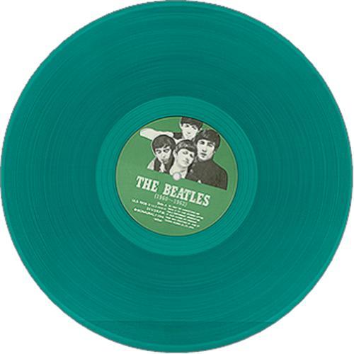 The Beatles The Beatles 1960 1962 Green Vinyl Japanese
