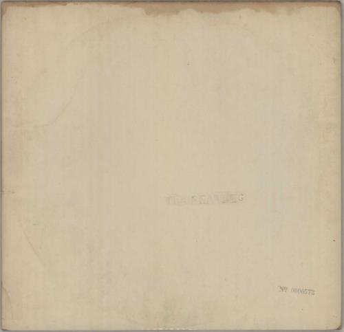 The Beatles The Beatles White Album 1st