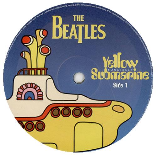 The Beatles Yellow Submarine Songtrack Sealed Uk Vinyl