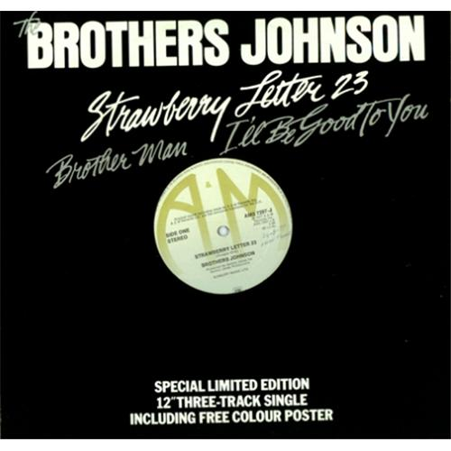 Brothers Johnson Strawberry Letter 23 - All About Design Letter