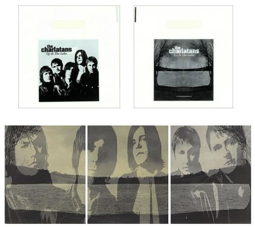 The Charlatans Uk Up At The Lake 3 X 7 Quot Carrier Bag