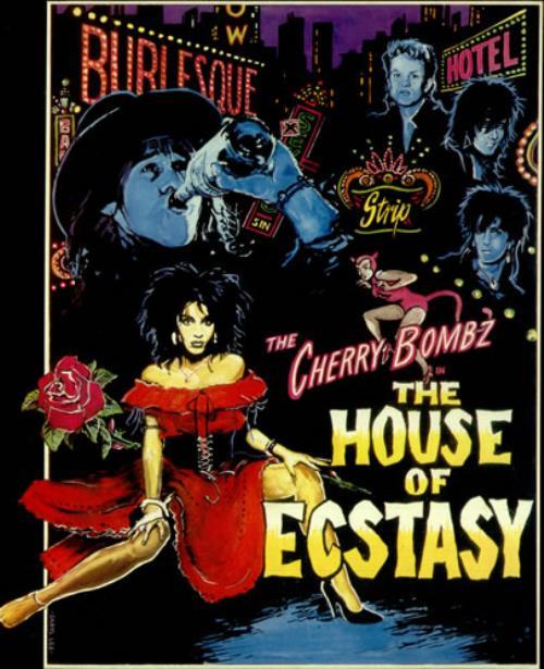 The Cherry Bombz The House Of Ecstasy Uk 12 Quot Vinyl Single