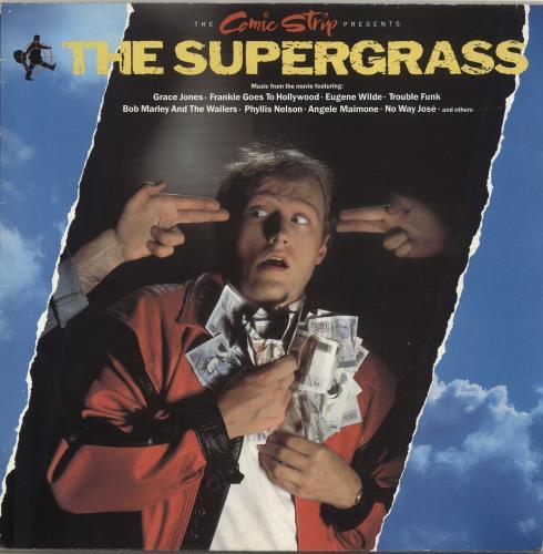 The Supergrass The Comic Strip The Supergrass Soundtrack UK vinyl LP album LP