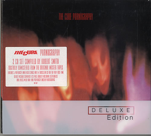 The Cure Pornography Deluxe Edition Uk 2 Cd Album Set