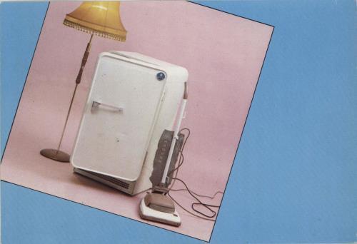 The Cure Three Imaginary Boys Postcard Uk Vinyl Lp Album