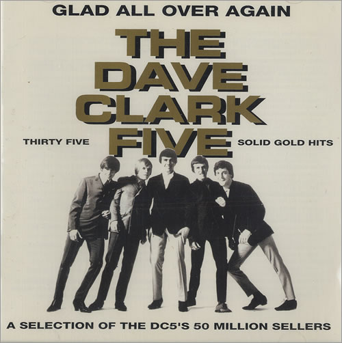 The Dave Clark Five Glad All Over Again Canadian Cd Album