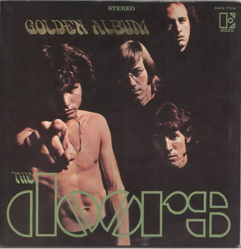 The Doors Golden Doors vinyl LP album (LP record) Japanese DORLPGO554206