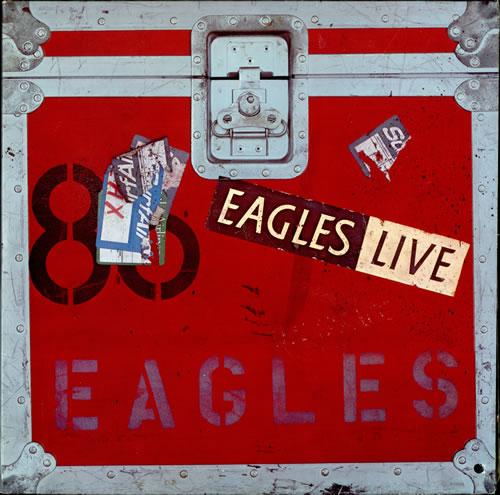 The Eagles Eagles Live Us 2 Lp Vinyl Record Set Double