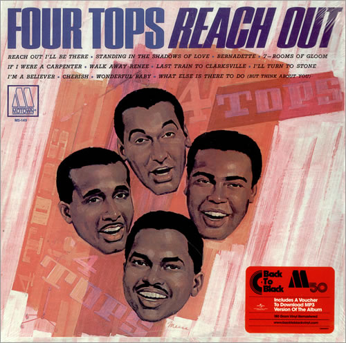 The Four Tops Reach Out Dutch Vinyl Lp Album Lp Record