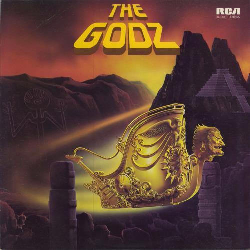 The Godz The Godz Uk Vinyl Lp Album Lp Record 242267