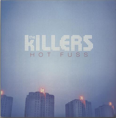 The Killers Rock Hot Fuss Blue Vinyl Uk Vinyl Lp Album