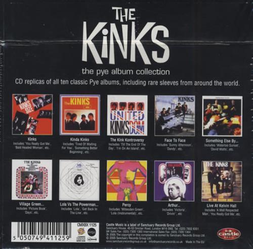 The Kinks The Pye Album Collection Uk Vinyl Box Set 322272