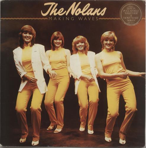 The Nolans Making Waves Uk Vinyl Lp Album Lp Record 551644