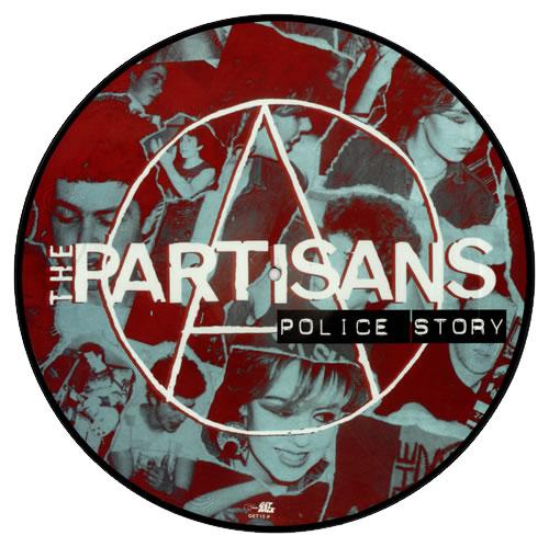 The Partisans Police Story Italian Picture Disc Lp Vinyl