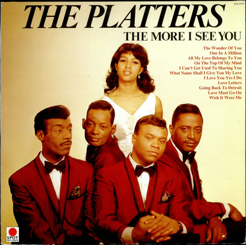 The Platters The More I See You Uk Vinyl Lp Album Lp