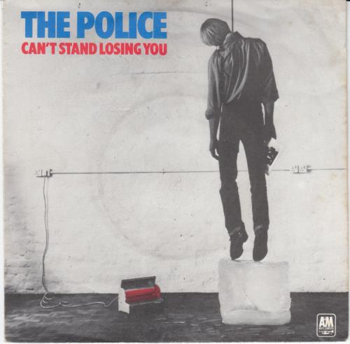 The Police Can T Stand Losing You Yellow Vinyl Uk 7