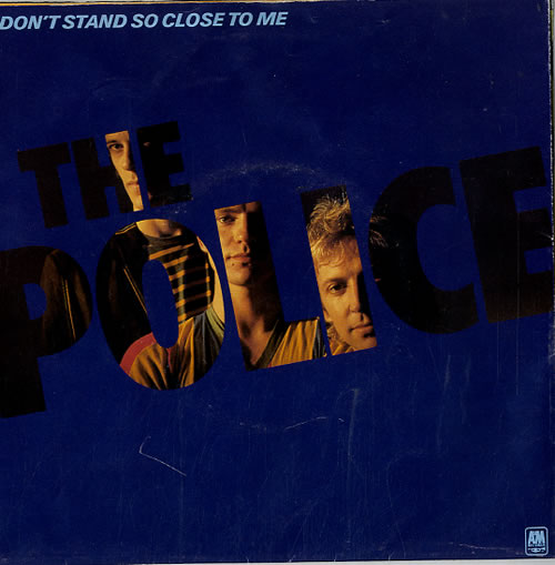 The Police Don T Stand So Close To Me Poster Sleeve Uk 7