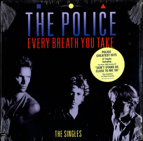 The Police Every Breath You Take The Singles Sealed Us