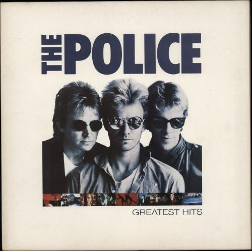 The Police Greatest Hits Uk Vinyl Lp Album Lp Record