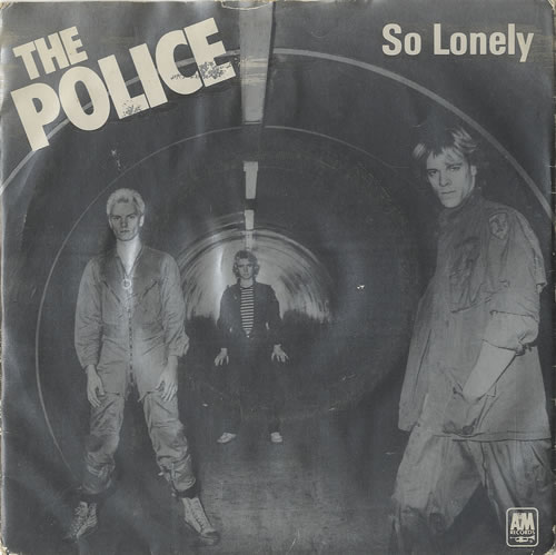 The Police So Lonely Blue Uk 7 Quot Vinyl Single 7 Inch