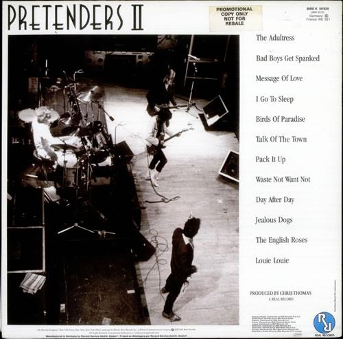 The Pretenders Pretenders Ii German Vinyl Lp Album Lp