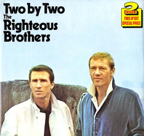 The Righteous Brothers Two By Two Uk 2 Lp Vinyl Record Set
