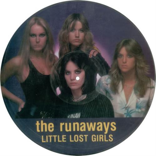 The Runaways Little Lost Girls Sealed Us Picture Disc Lp
