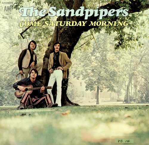The Sandpipers Come Saturday Morning Japanese Promo Vinyl