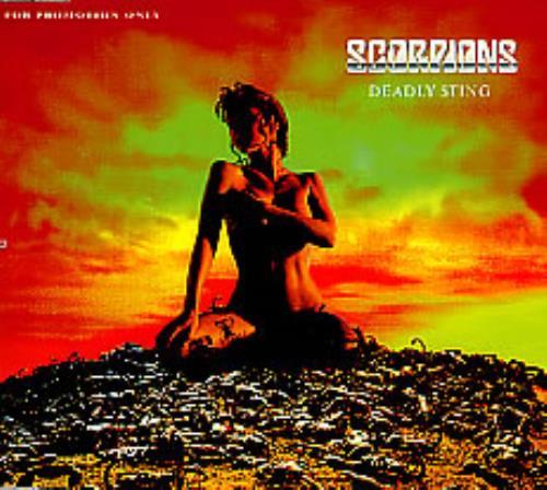 The Scorpions Deadly Sting Dutch Promo Cd Album Cdlp